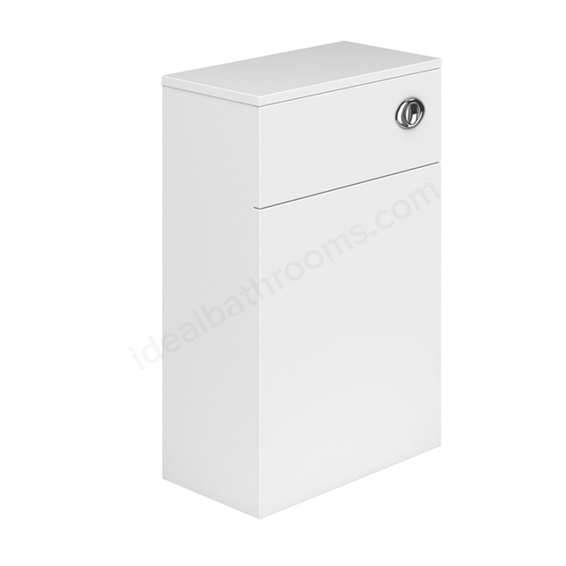 Essential NEVADA WC Unit; 500mm Wide x 200mm Deep; White