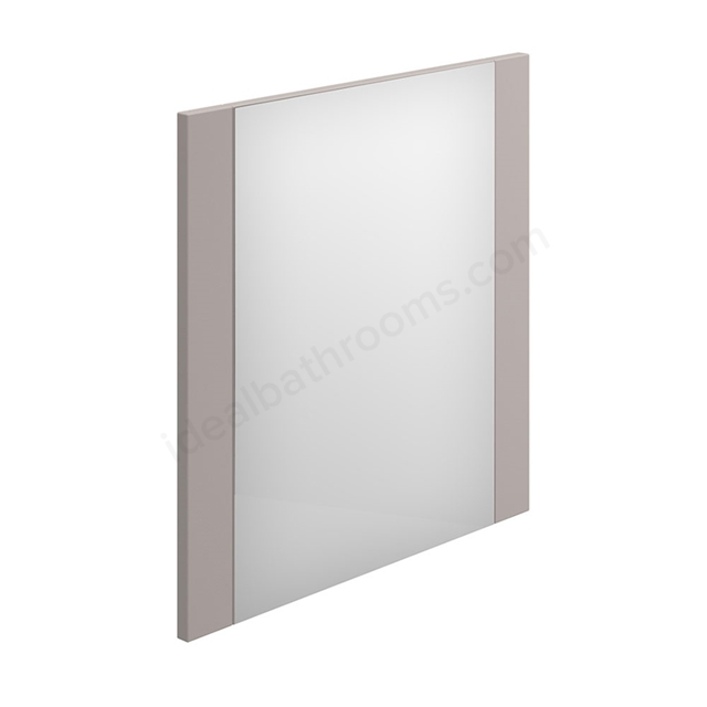 Essential NEVADA Bathroom Mirror; Rectangular; 600x600mm; Cashmere