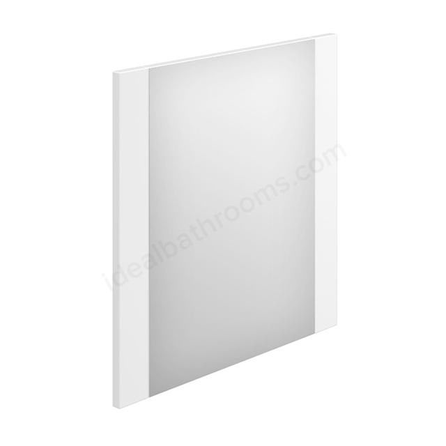 Essential NEVADA Bathroom Mirror; Rectangular; 600x600mm; White