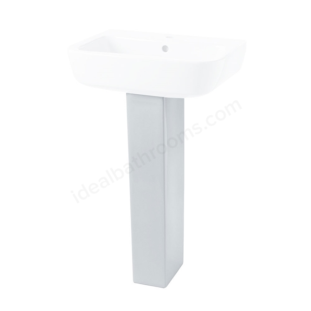 Essential ORCHID Full Pedestal Only; White
