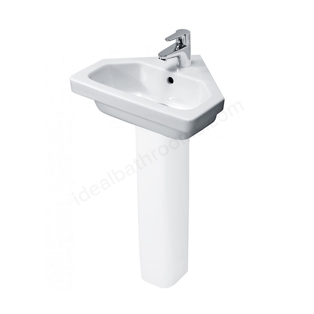 Essential Ivy 450mm Vessel Basin 1 Tap Hole