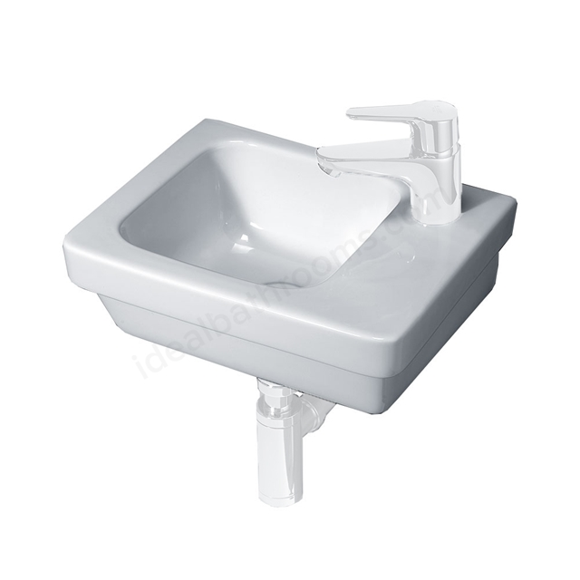 Essential Ivy 360mm Vessel Basin 1 Tap Hole