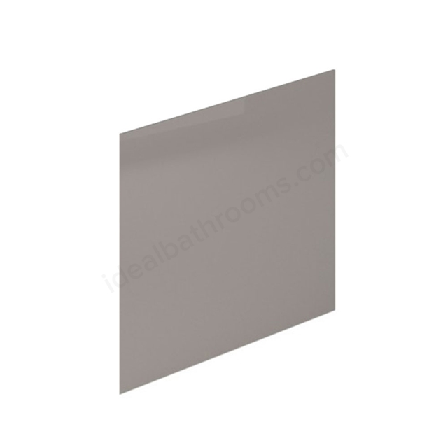Essential NEVADA MDF End Bath Panel; 700mm Wide; Cashmere