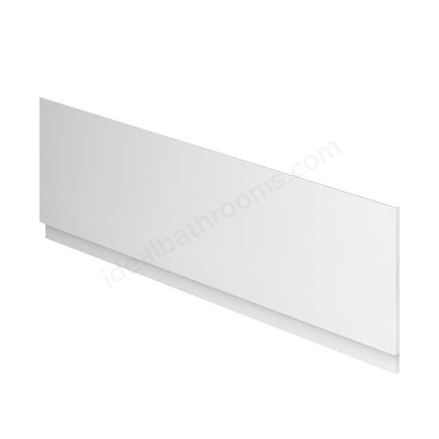 Essential NEVADA MDF Front Bath Panel; 1800mm Wide; White