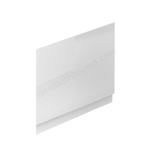 Essential NEVADA MDF End Bath Panel; 700mm Wide; White