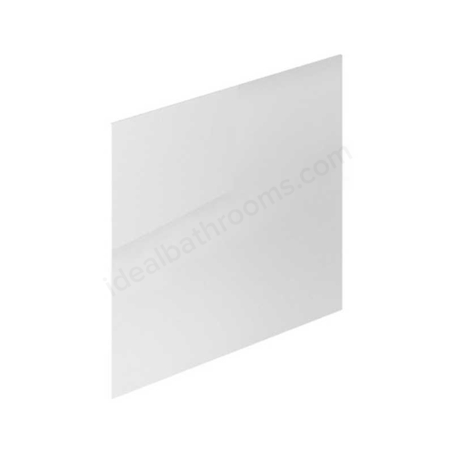 Essential NEVADA MDF Showerbath End Bath Panel; 700mm Wide; White