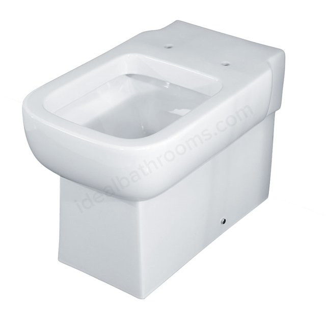 Essential ORCHID Back To Wall Pan Only; White